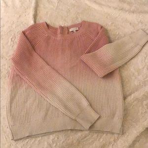 Dip Dye Sweater like new!